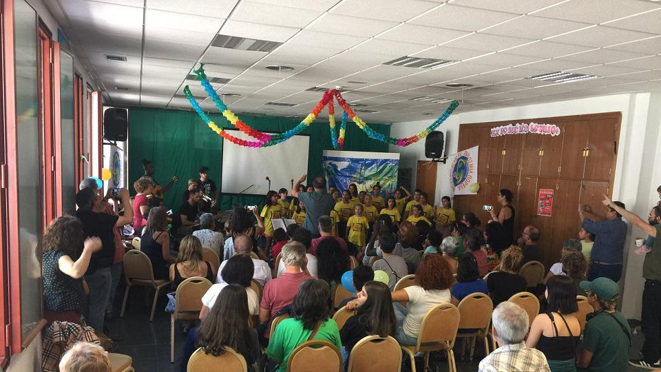 Festival Perdamaian di Ruang EVA