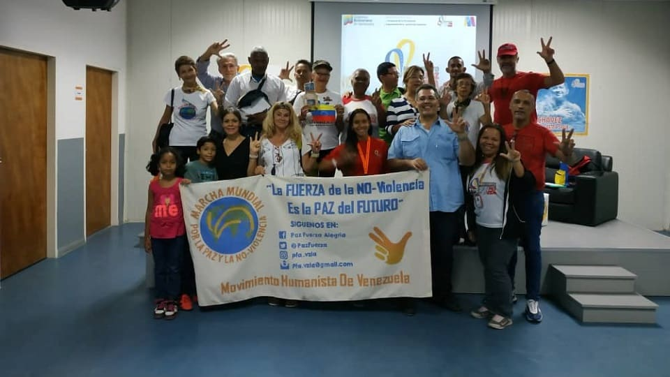 Venezuela, actividades por la Paz en Caracas